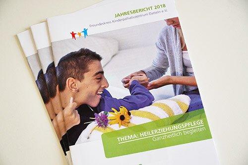Jahresbericht Kinderpalliativzentrum