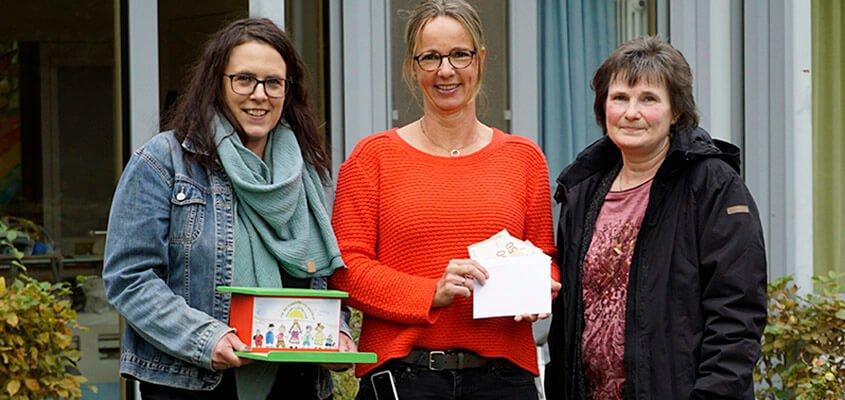 Spendenübergabe Freundeskreis Kinderpalliativzentrum