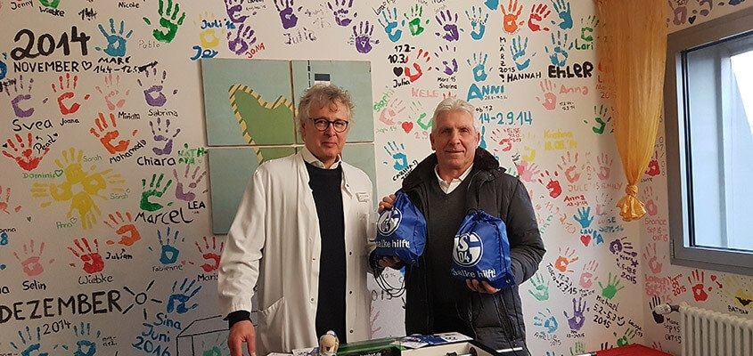 Spendenaktion Kinderpalliativzentrum Schalke
