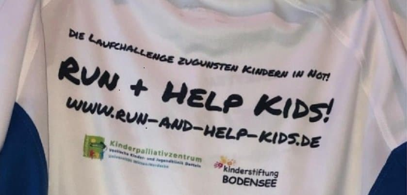 Runandhelp Spendenaktion KInderpalliativzentrum