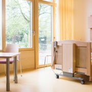 Patientenzimmer Kinderpalliativzentrum Station Lichtblicke